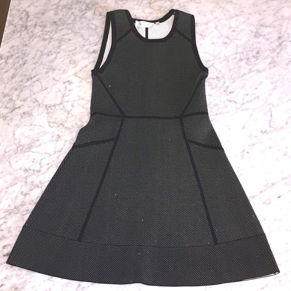 A.L.C. Dresses & Skirts - A.L.C. A-line dress in black and white dots print